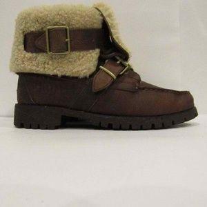 Ralph Lauren Size 7.5 Brown Boots Shoes For Women